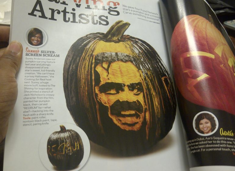 throwback thursday want to carve jack nicholson s face into your rh sunnyanderson com