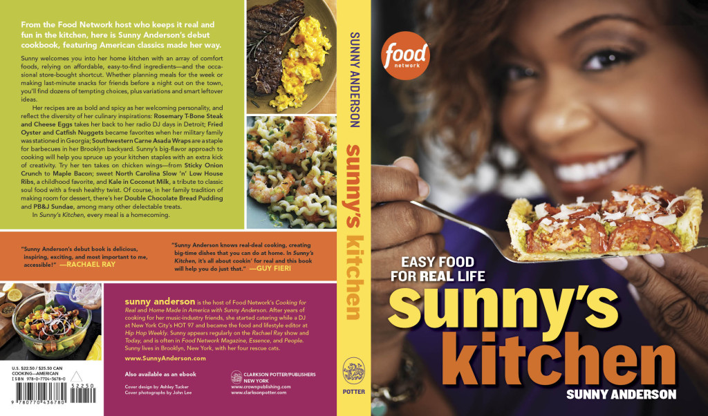 Cook Book Back Cover : View sunny anderson s book kitchen easy food for