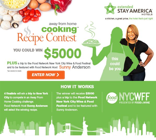 Enter extended stay americas away from home cooking recipe contest enter extended stay americas away from home cooking recipe contest forumfinder Choice Image