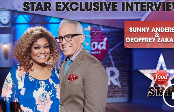 Star Exclusive Interview with Sunny Anderson and Geoffrey Zakarian