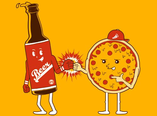 Beer & Pizza = BFFs